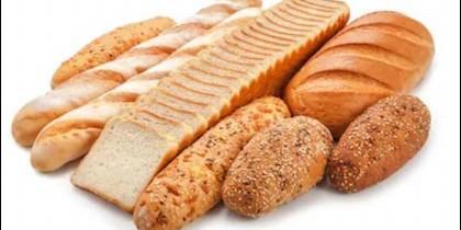Distintas variedades de pan.