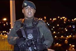 Edilberto Ortíz Correa, el jefe del GOES que se suicidó luego de discutir con su mujer.