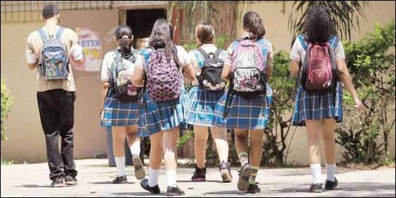 Escolares, estudiantes, adolescentes.