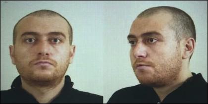 El terrorista turco Gökmen Tanis.