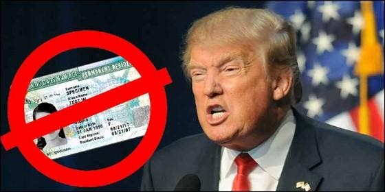 Donald Trump, el Congreso de EEUU y la Green Card.