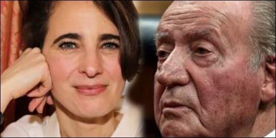 Laurence Debray y Juan Carlos I