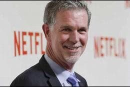 Reed Hastings, CEO y fundador de Netflix.