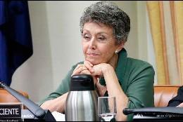 Rosa María Mateo en el Congreso