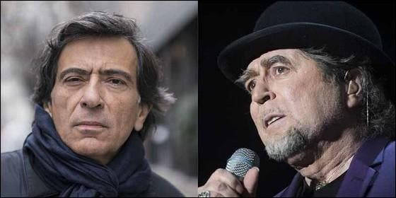 Arcadi Espada y Joaquín Sabina.