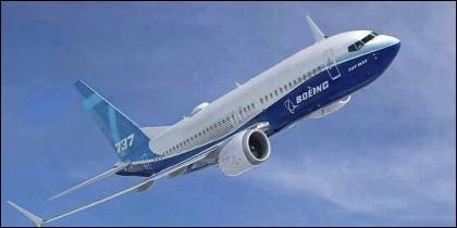 El Boeing 737 Max.