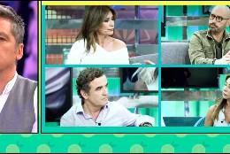 Gustavo González y sus cuatro 'víctimas'   (Telecinco)