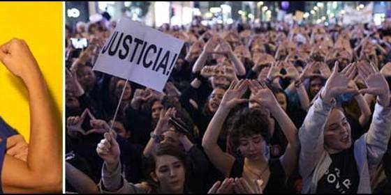 Rocío Monasterio; y las hordas feministas del 8M.