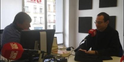 El Prior del Valle de los Caídos entrevistado por Martín Ynestrillas en Radio YA.