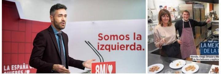 Felipe Sicilia y la foto de la vergüenza del PSOE.