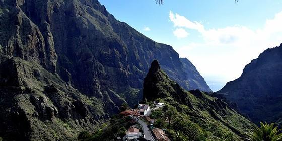 Barranco De Masca, Montañas De Teno, Tenerife, Caminata