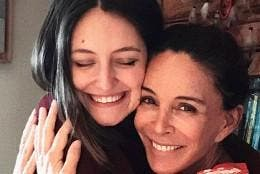 Andrea Molina y Lydia Bosch   (Instagram)
