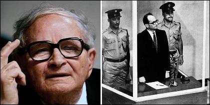Rafi Eitan, el agente israelí que capturó al nazi Adolf Eichmann.