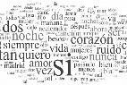 Palabras, letras, frases, lenguaje.