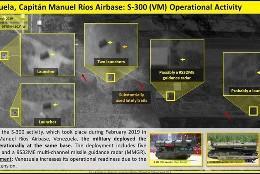 Antimisiles rusos en Venezuela