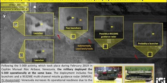 Maduro despliega en Caracas escudo de misiles ruso
