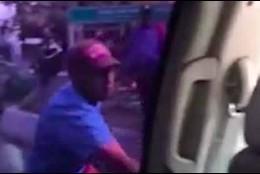 El ataque de los colectivos paramilitares chavistas al automóvil del presidente interino Juan Guaidó