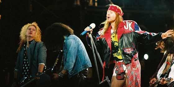 La banda norteamericana Guns N Roses