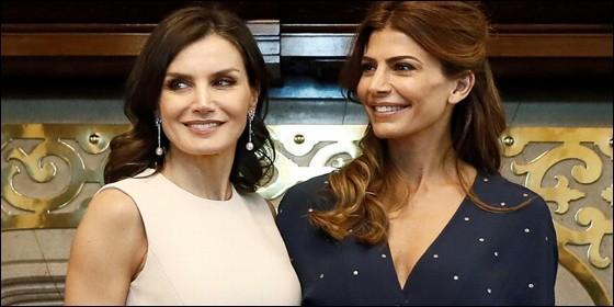 Letizia y Juliana Awada