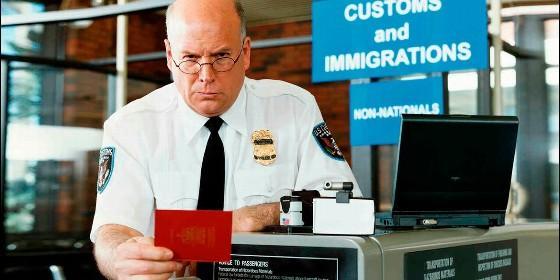 Agente migración de EEUU