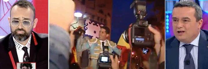 Risto Mejide y Chema Crespo ni se imaginan ver un torero en el Congreso...