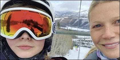 Gwyneth Paltrow y su hija