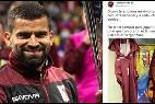 La crítica del capitán de la selección venezolana de fútbol por no tener uniformes para jugar.