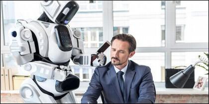 \Robot en la oficina