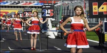 Azafatas de Fórmula 1