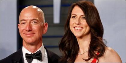 Jeff Bezos y su ex