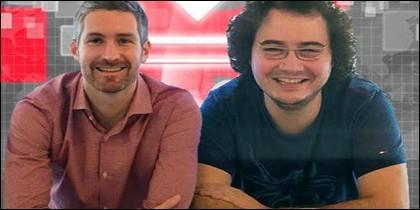 David Martínez y Jordi Tamargo