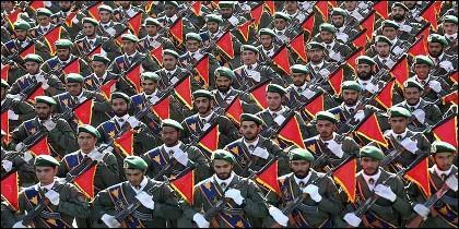 La Guardia Revolucionaria iraní.