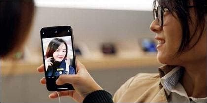 iPhone en China.