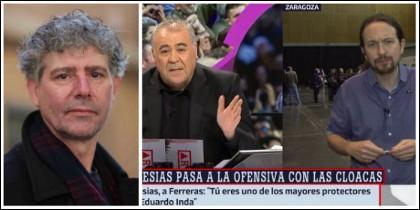 Aníbal Malvar hablando de la bronca en 'Al Rojo Vivo'.