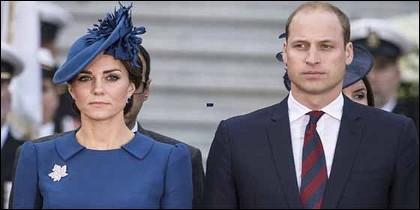 El Príncipe Guillermo y 'Kate', Catalina de Cambridge.