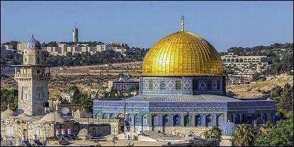 La mezquita de Al-Aqsa.