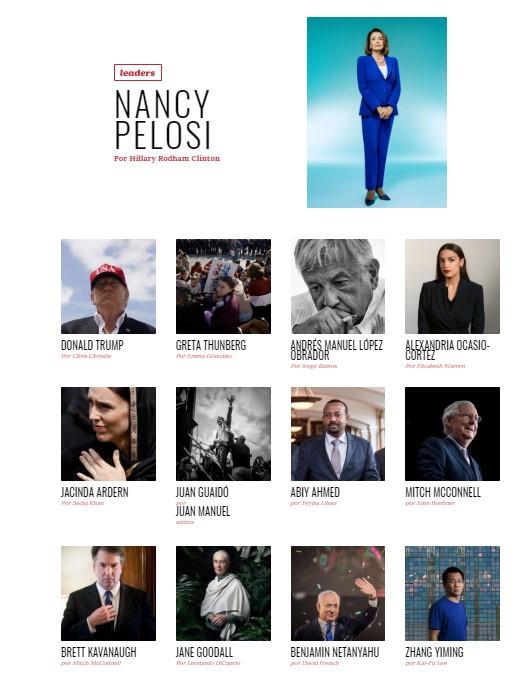 AMLO aparece en listado de 100 líderes de la revista 'Time'