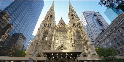La Catedral de San Patricio en Nueva York.