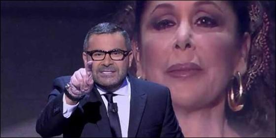 Jorge Javier Vázquez llamando 'ladrona' a Isabel Pantoja.
