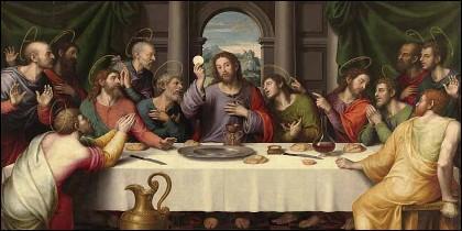 'La Última Cena' de Juan de Juanes.