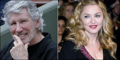 Roger Waters y Madonna