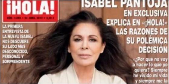 Sabías que Isabel Pantoja se ha embolsado más de 100.000 euros por su exclusiva en `Hola`