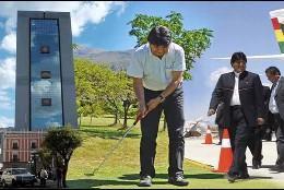La vida de lujo del 'millonario' Evo Morales.