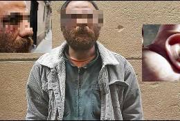 El violador marroquí que arrancó una oreja de un mordisco a su víctima.