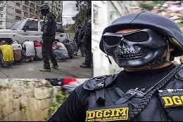 Venezuela: los torturados de la Dgcim, con máscaras truculentas, deteniendo opositores.