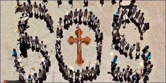 Cristianos perseguidos en todo el mundo.
