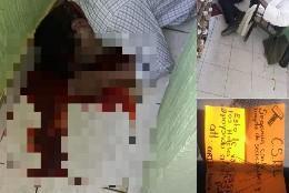 Asesinatos en México por los narcotraficantes