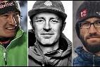 Los alpinistas fallecidos Jess Roskelley, Hansjörg Auer y David Lama