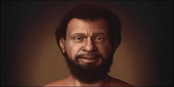 La recreación de la imagen de Jesús, elaborada por Cícero Morae en base a como eran los judíos de la época.