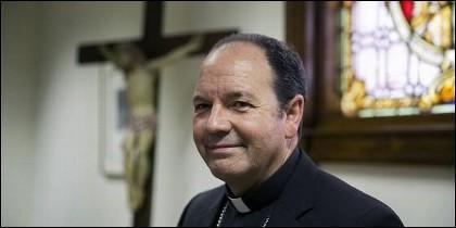El obispo de Vitoria, Juan Carlos Elizalde.